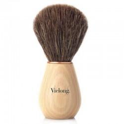 Wave shaving brush, beechwood and horse hair Ø21mm