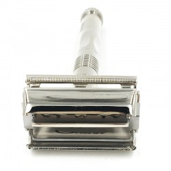 Butterfly open double edge safety razor
