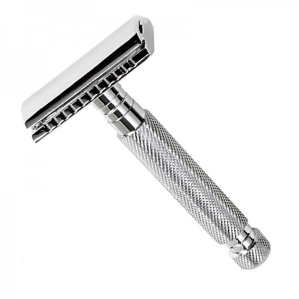 Closed Comb Chrome Safety Travel Razor
