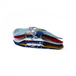 Organic fabric thong panty- liner