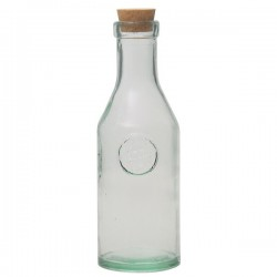 Recycled Glass Drinking Bottle 1L.
