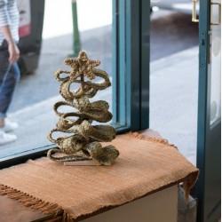 Arbol de Navidad artesano y ecológico