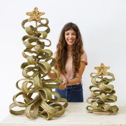 Arbre de Noël artisanal et écologique
