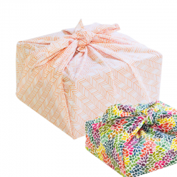 Reusable wrapping cloth Furoshiki large