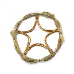 Corona Natural artesana de Esparto