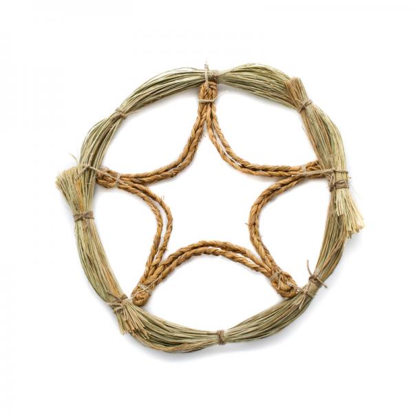 Natural handmade Christmas wreath