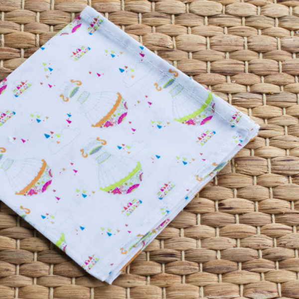 Organic cotton handkerchief for kids