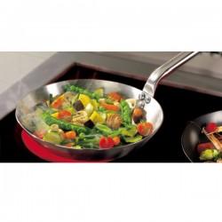 """""""Priority"""" stainless steel frying pan. De Buyer"""