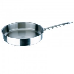 "Stainless Steel Sauté Frying Pan ""Professional Line"""