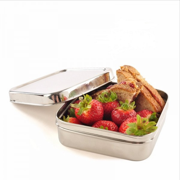 Square Stainless Steel Eco Lunch Box