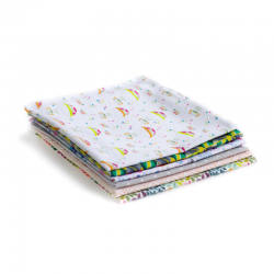 Organic cotton cloth napkin -double layer