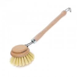 Cepillo para vajilla de madera