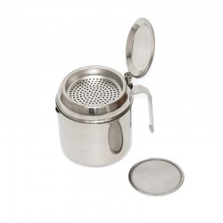 Stainless steel oil strainer jug