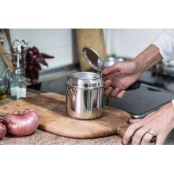 Stainless steel oil strainer jug