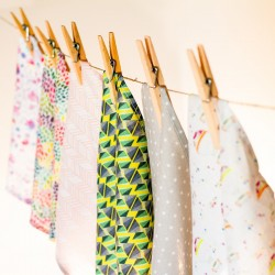 Mouchoir en tissu coton bio