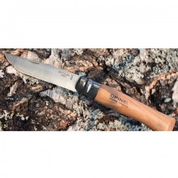 Couteau de poche en inox et bois de hêtre Nº6
