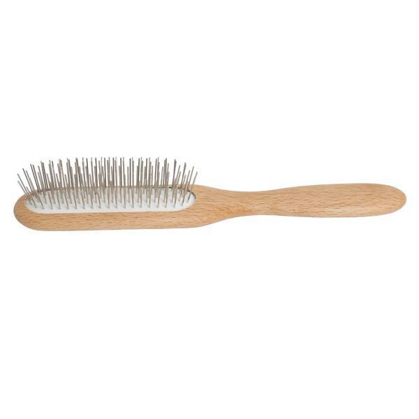 Longish head massage hairbrush
