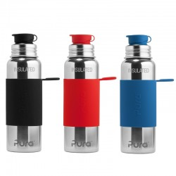 """Pura Sport"" 650ml. Vacuum Insulated Stainless Steel Bottle"
