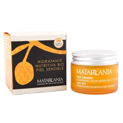 Organic moistering cream for sensitive skins MATARRANIA 30ml.