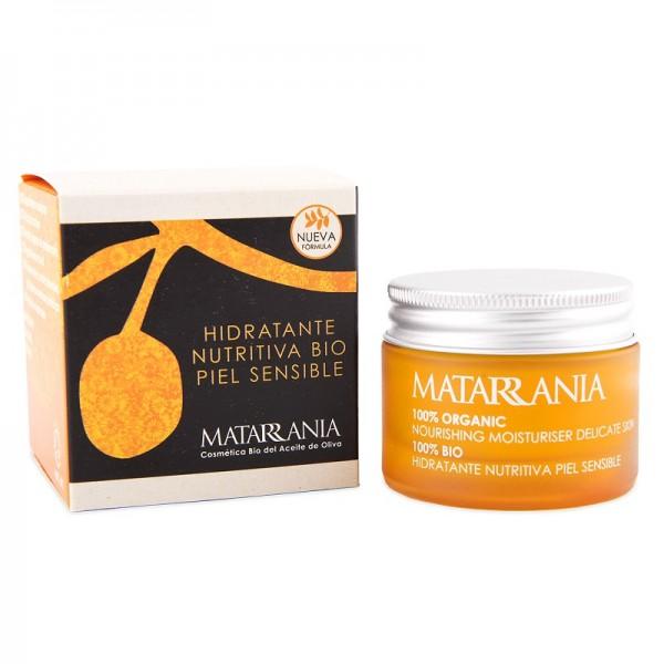 Crème hydratante nutritive peau sensible bio MATARRANIA 30ml.