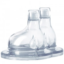 "Sippy Silicone Teat for ""Pure"" Baby Bottles"