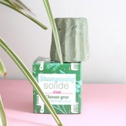 Shampoing solide naturel pour cheveux gras aux herbes folles