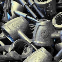 Cascanueces de aluminio multifunción