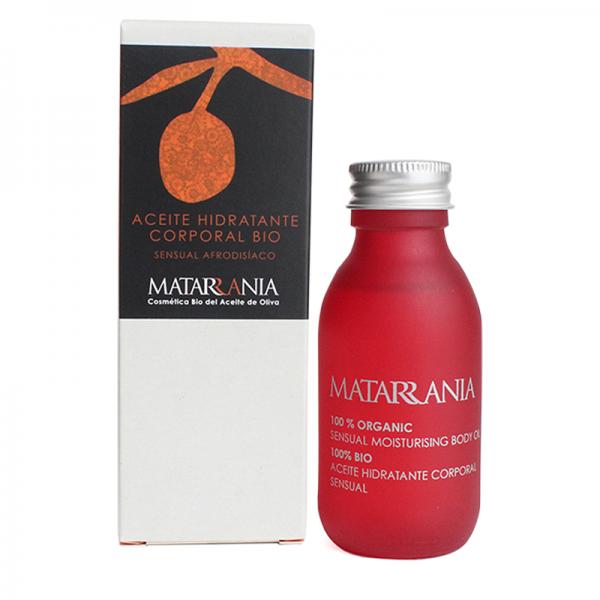 Organic sensual aphodisiac moisturising body oil 100ml