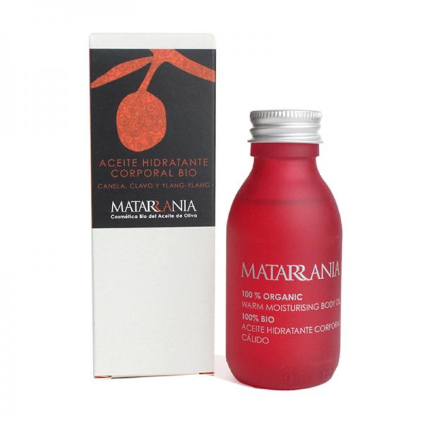 Aceite hidratante corporal bio canela, clavo e Ylang Ylang 100ml