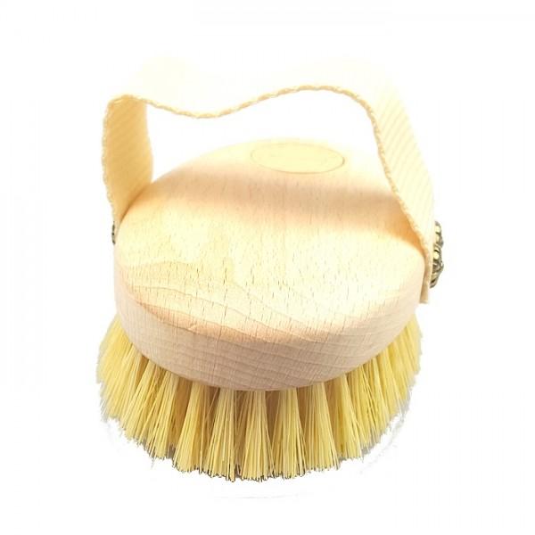 Cepillo para masaje corporal de fibras vegetales