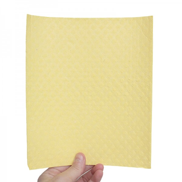 Ecological cellulose and cotton sponge wipes 17x20 cm.