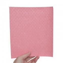 Carré éponge écologique en coton et cellulose 17x20 cm.