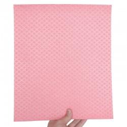 Carré éponge écologique en coton et cellulose 26x31 cm.