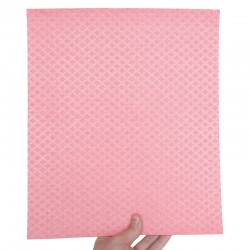 Ecological cellulose and cotton sponge wipes 26x31 cm.