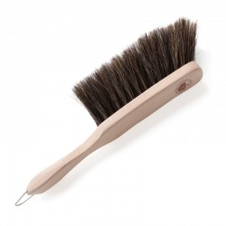 Horsehair hand brush