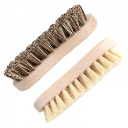 Wooden scrub brush 8-shaped stiff and extra stiff