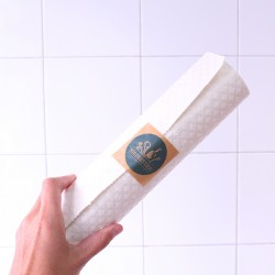 Ecological cellulose and cotton sponge cloth household roll