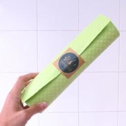 Rouleau de lavettes éponges écologiques en coton et cellulose