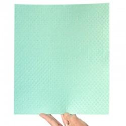 Carré éponge écologique en coton et cellulose 31x34 cm.