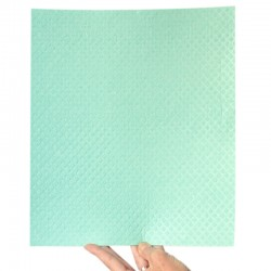 Ecological cellulose and cotton sponge wipe 31x34 cm.