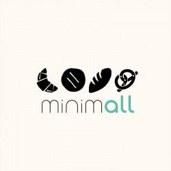 "Bolsa de pan de algodón orgánico ""Minimall"""