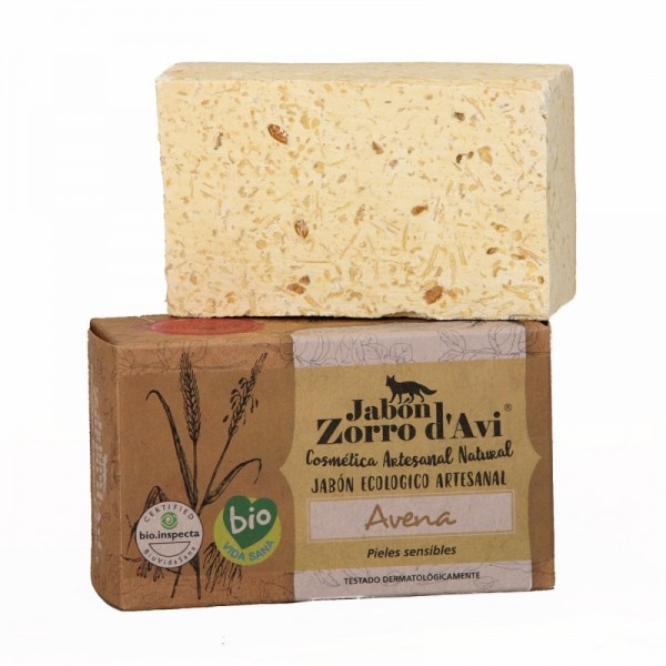 Oatmeal organic natural soap bar