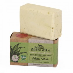 Aloe vera organic soap and shampoo bar