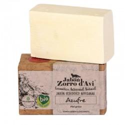Jabón sólido ecológico de Azufre