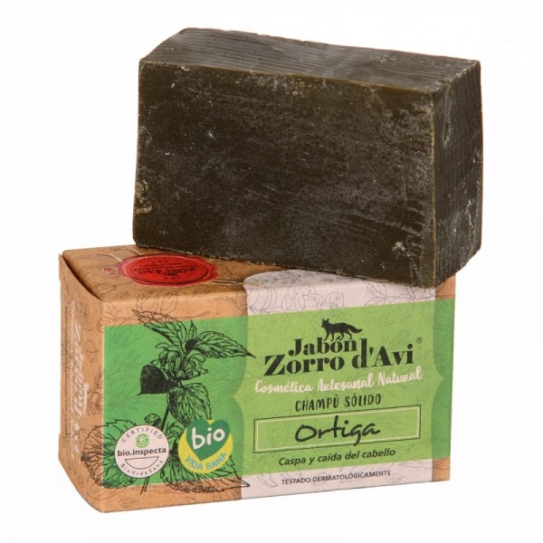 Nettle organic Soap and Shampoo Bar