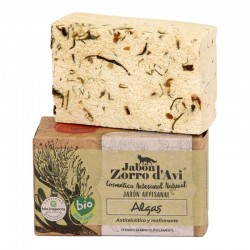 Seaweed organic soap bar