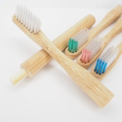 2 Soft Head Replacements for Bamboo Toothbrush