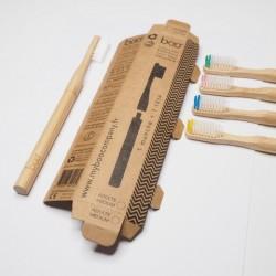 2 repuestos de cabezal suave para cepillo intercambiable de bambú BOO