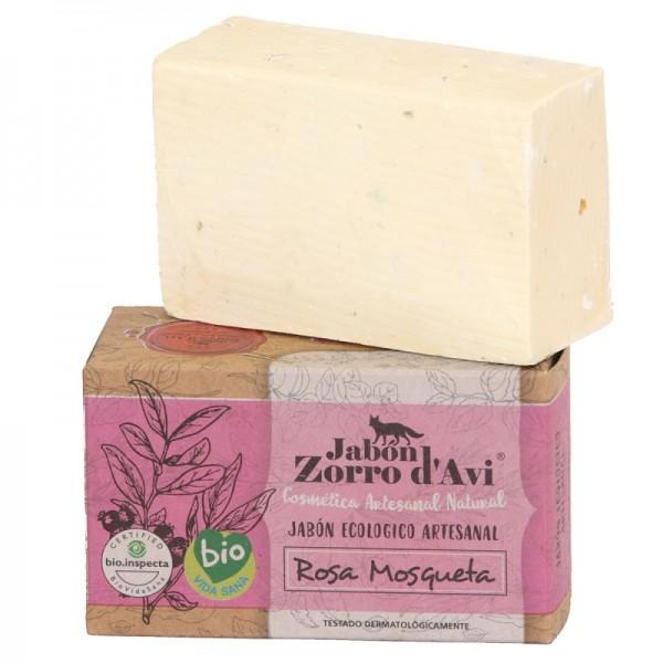 Jabón sólido ecológico de Rosa Mosqueta