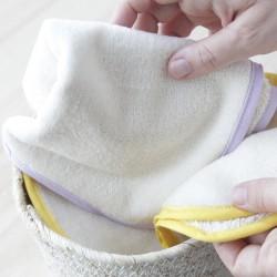 Toallita lavable extra suave de algodón orgánico